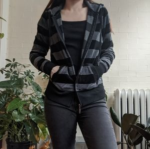 Calvin Klein Performance Hoodie Sweatshirt Stripe